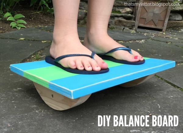 diy balance board free plans