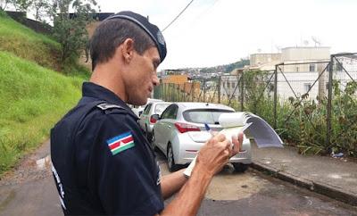 Guarda Municipal de Juiz de Fora (MG) registra 770 autos de infração após seis meses de atuação no trânsito