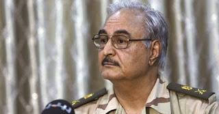 le général libyen Khalifa Haftar