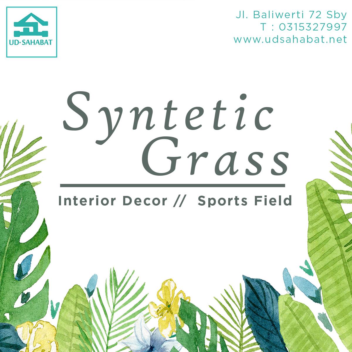 jual rumput buatan sintetis lapangan UD SAHABAT SURABAYA