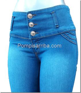 Jeans de mezclilla originales baratos en México pantalones colombianos 2017
