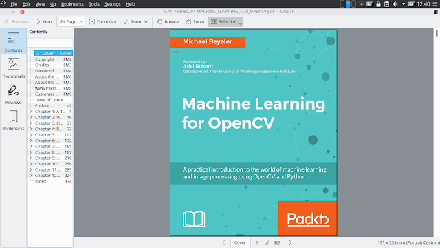 Ebook Machine Learning For OpenCV