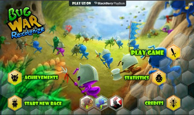 Bug War: Recolonize   Indonesian Flash Games