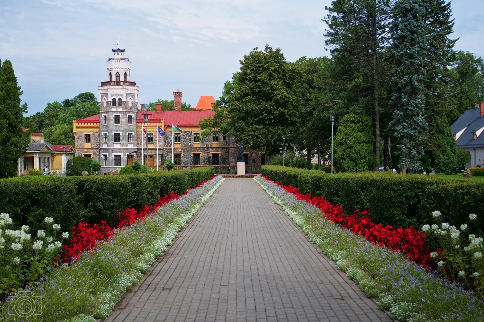 Nouveau château de Sigulda photographie carnet voyage Nikon D3100