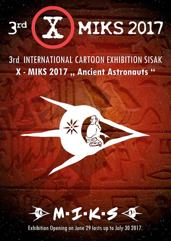 Concurso de caricatura 3rd MIKS 2017
