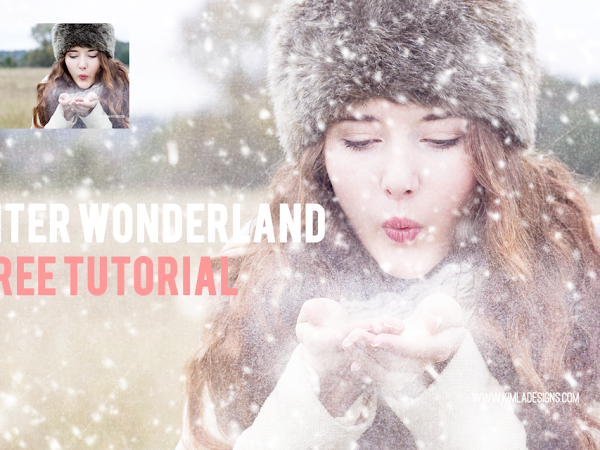 Winter Wonderland Collection of Snow Overlays and Fine Art Textures Freebie Fine Art Textures