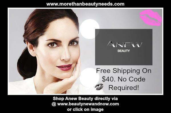 Anew Beauty   AVON