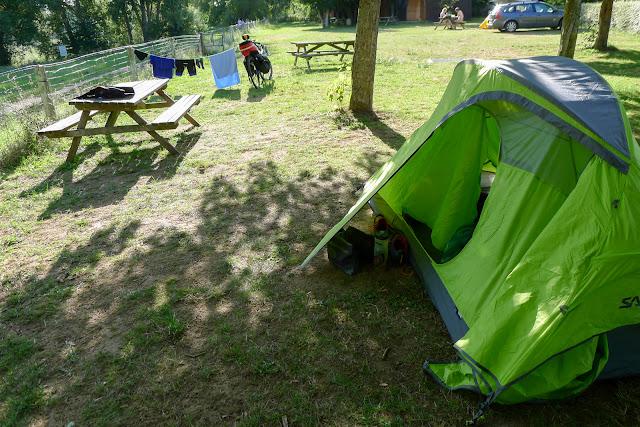 De Paris à Narbonne en vélo, Camping St-Per