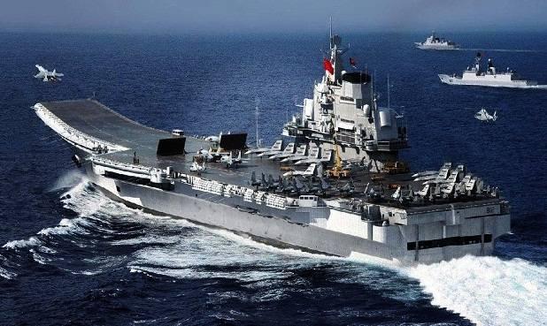Kapal Induk Liaoning terbesar dan sutu-satunya yang dimiliki China