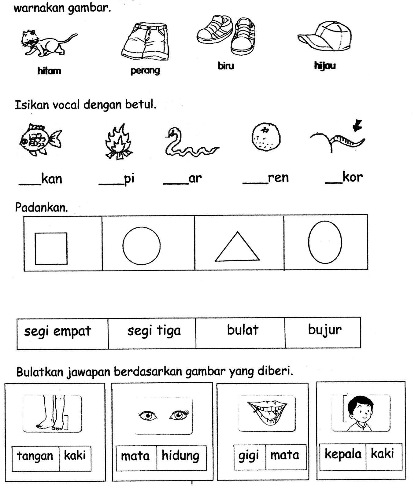 Worksheet Suku Kata Printable Worksheets And Activities For Teachers Parents Tutors And Homeschool Families
