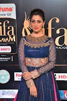 Raai Laxmi in Beautiful Backless Designer Anarkali Gown at IIFA Utsavam Awards 2017  Day 2  Exclusive 21.JPG
