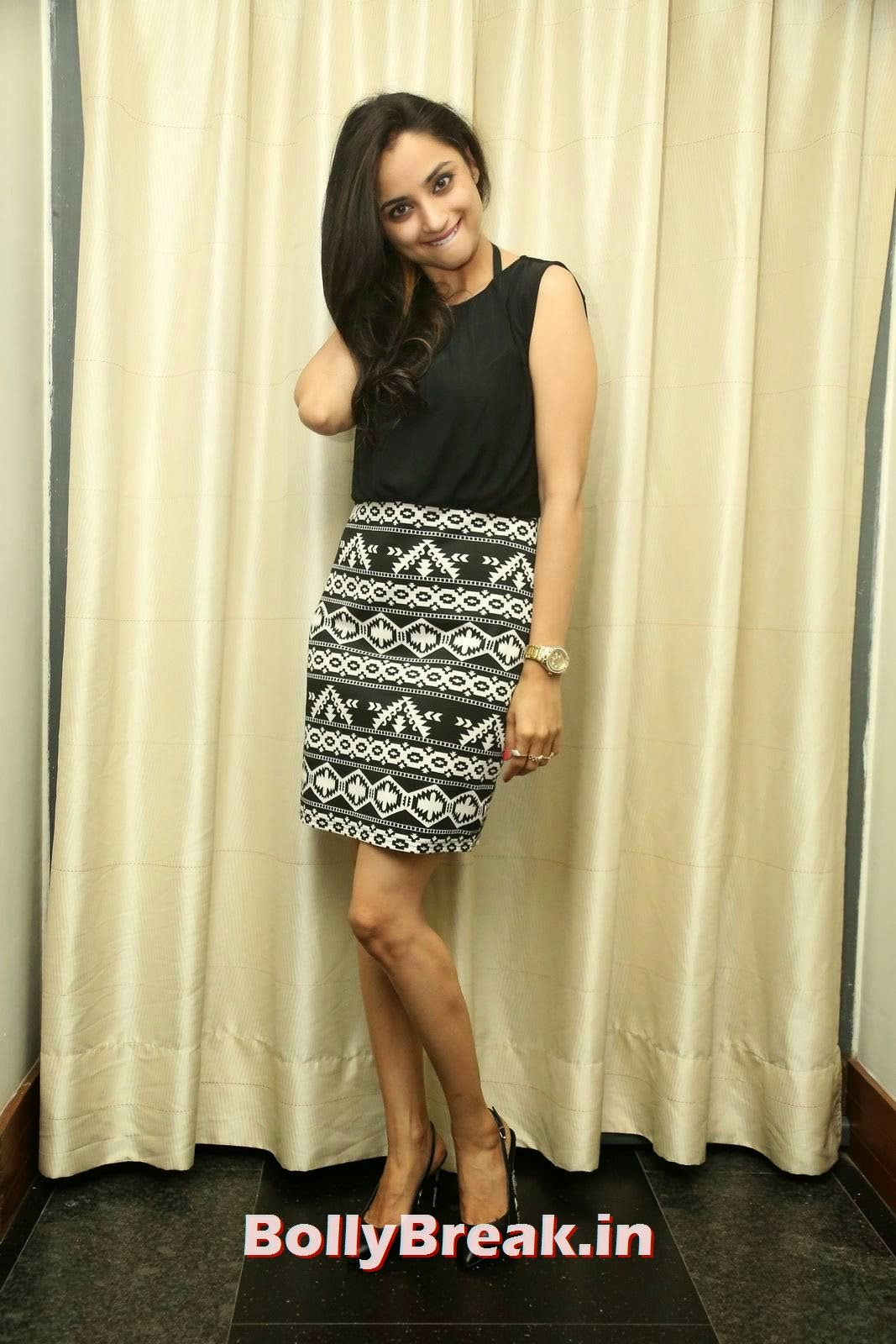 Madirakshi Pictures, Actress Madirakshi Hot Pics in Skirt & Black Top
