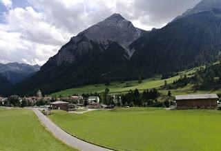 スイスの美しい山