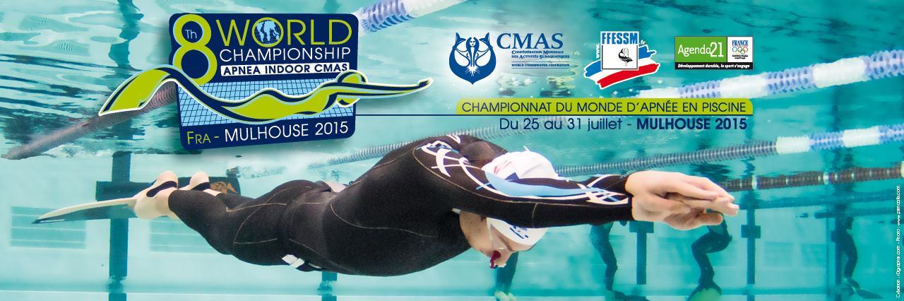 Championnat du monde d'apnée 2015 à Mulhouse