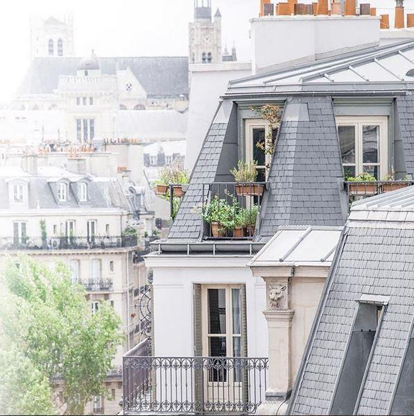 Le Marais District Rooftops