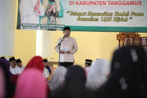 Tanggamus sebagai jangkar lokomotif Lampung