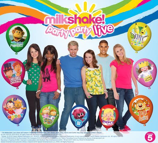 Milkshake! Party Party Live