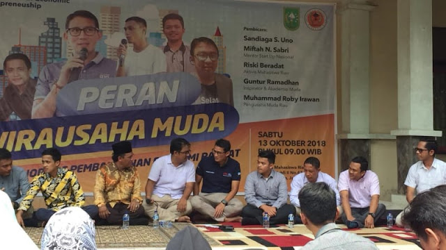 Tak Mau Langgar Aturan, Sandi Enggan Jadi Pembicara di Asrama Riau