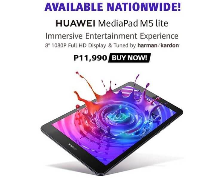 Huawei Outs MediaPad M5 lite 8 in PH