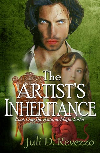 The Artist's Inheritance, by Juli D. Revezzo, Pagan paranormal fiction, witch fiction