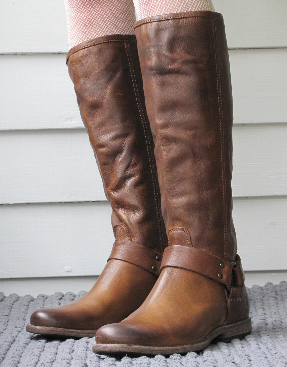 Howdy Slim Riding Boots For Thin Calves Frye Phillip