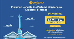 Tempat Pinjam Uang secara Online, Situs Uangteman Hadir di Kota Jambi