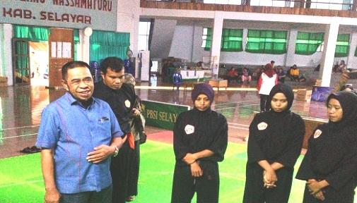 Ketua IPSI, Pantau Pemusatan Latihan Atlet Silat Selayar