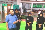 Ketua IPSI Pantau Pemusatan Latihan Atlet Silat Selayar