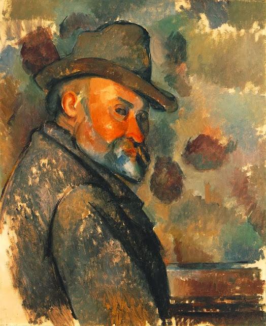 Resultado de imagen de blogspot, Cézanne, autoportrait