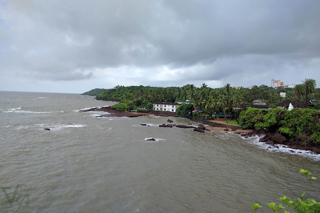Amazing view of the coastline, Dona Paula Panaji