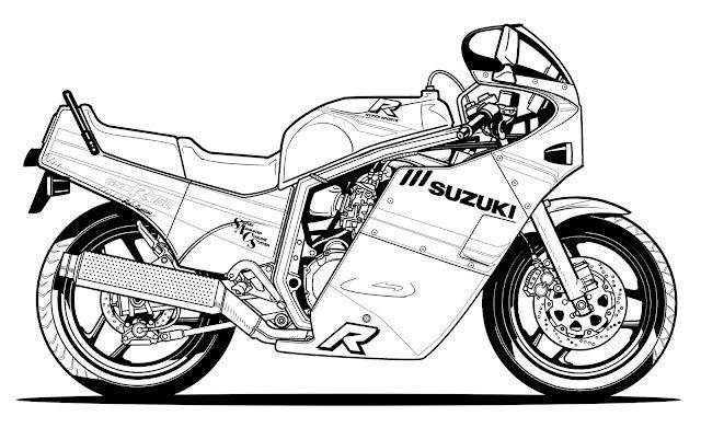 Planet Japan Blog: Suzuki GSX-R 30 Years of Performance
