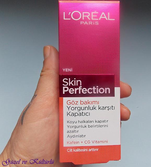 Loreal Skin Perfection Yorgunluk Karşıtı Göz Altı Kapatıcısı