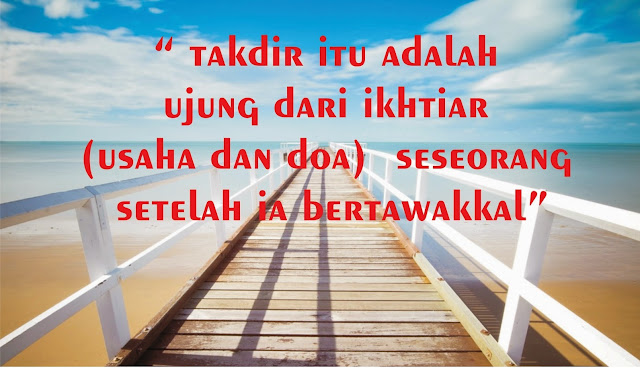 Jangan Suudzon dengan Takdir Allah, Karena Itulah yang Terbaik, Meski Apapun yang Terjadi