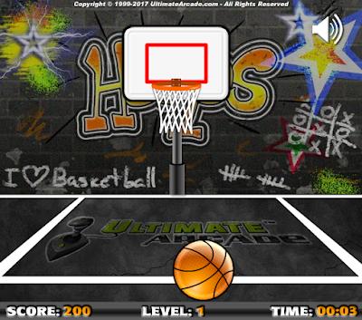 百萬投籃機,簡單好玩的籃球投籃遊戲!