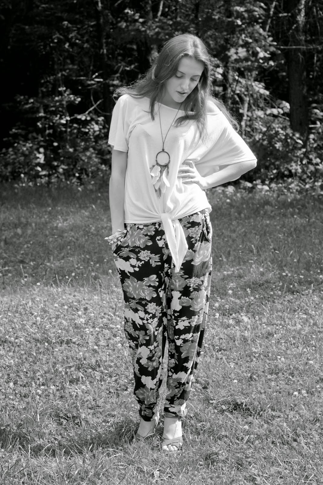 Kwieciste spodnie!