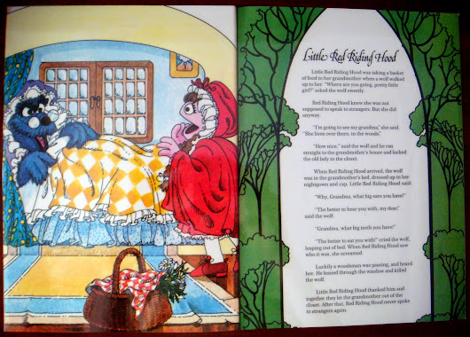 Famous fairytales and nursery rhymes: Little Red Riding Hood