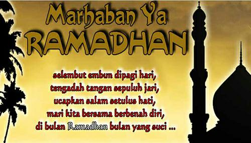 Kata Ucapan Menyambut Selamat Bulan Puasa Ramadhan Terbaru 1440 H/ 2019