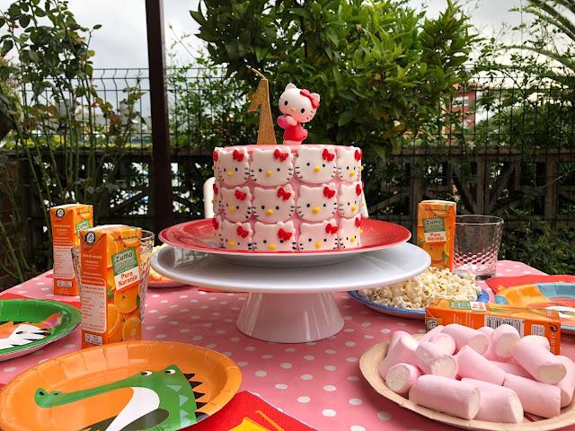 tarta Hello Kitty Sin Gluten