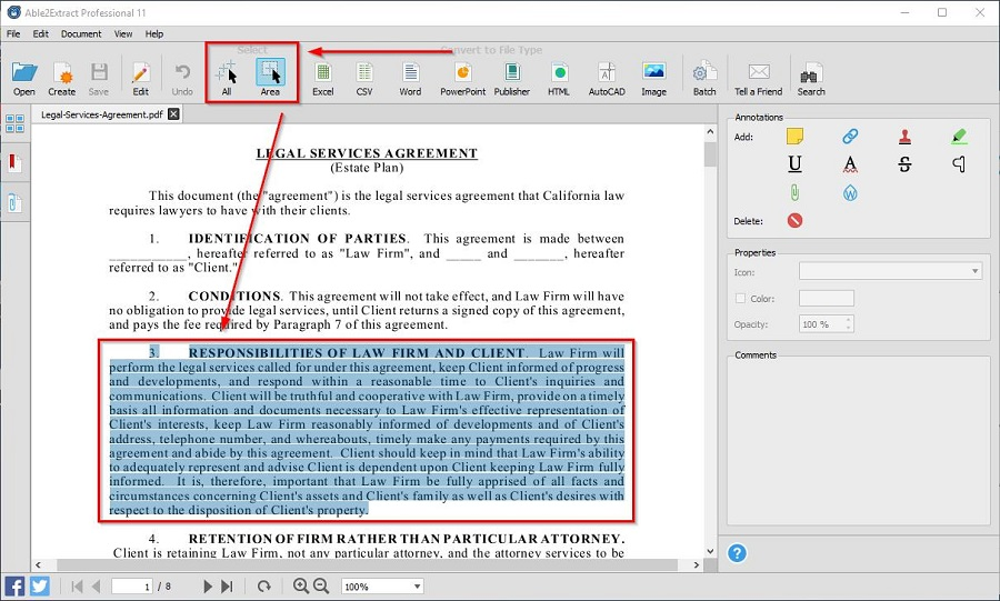 Convert PDF to Editable Word 2