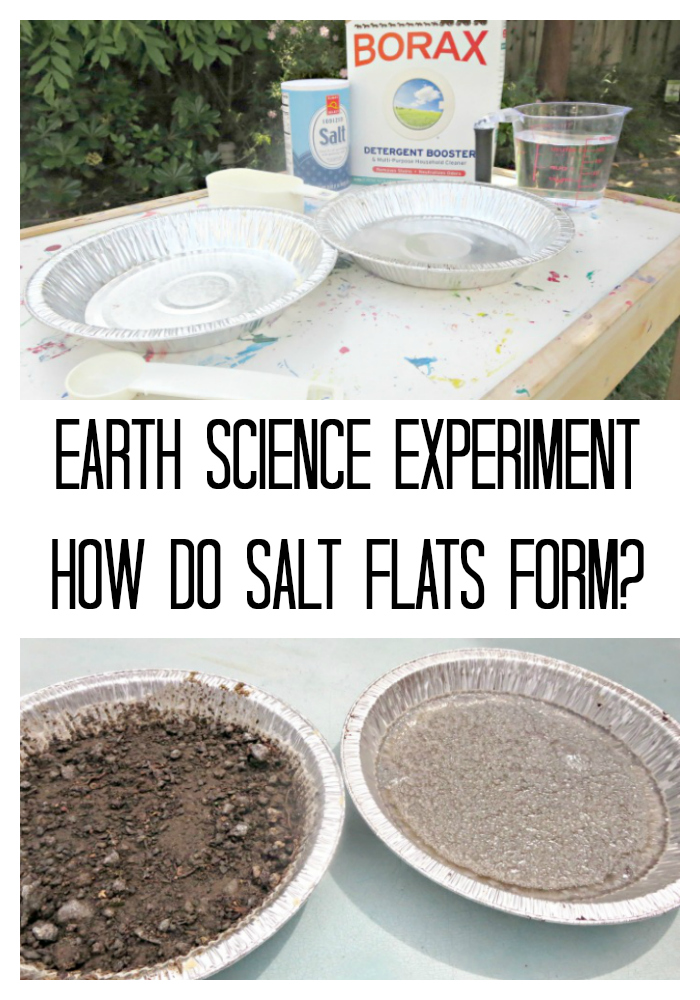 Earth Science: Salt Flats Formation - Planet Smarty Pants