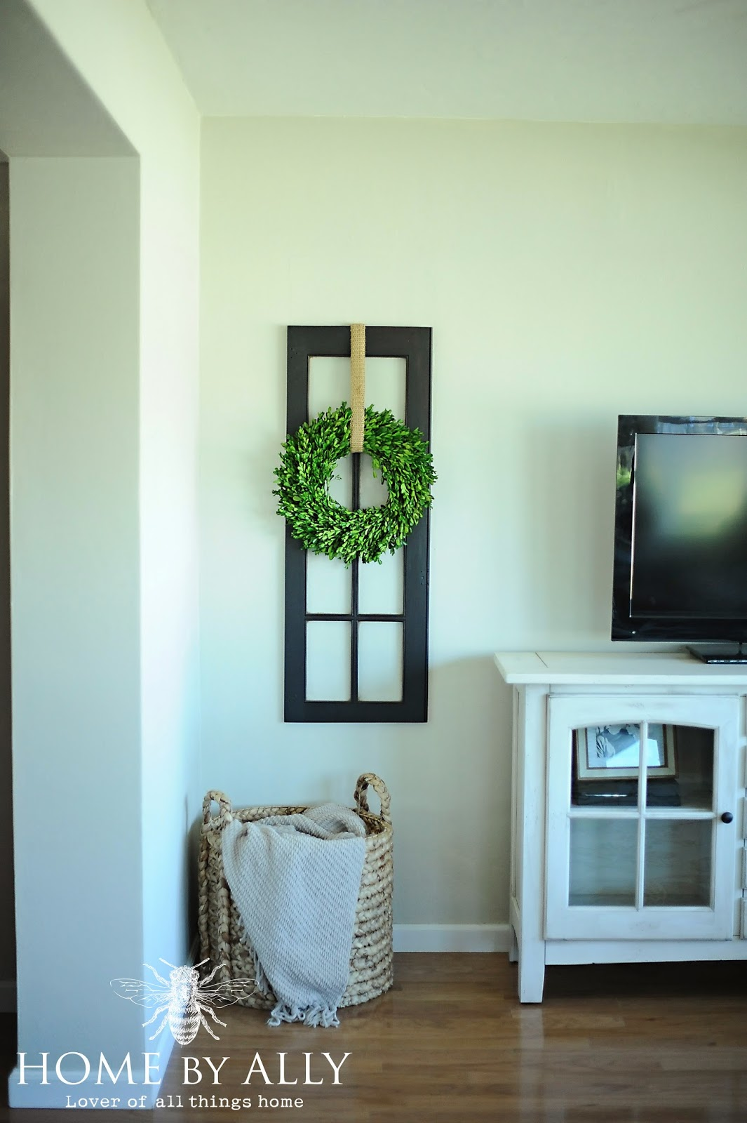 Home by Ally: New windows in the sunroom and decorating ...