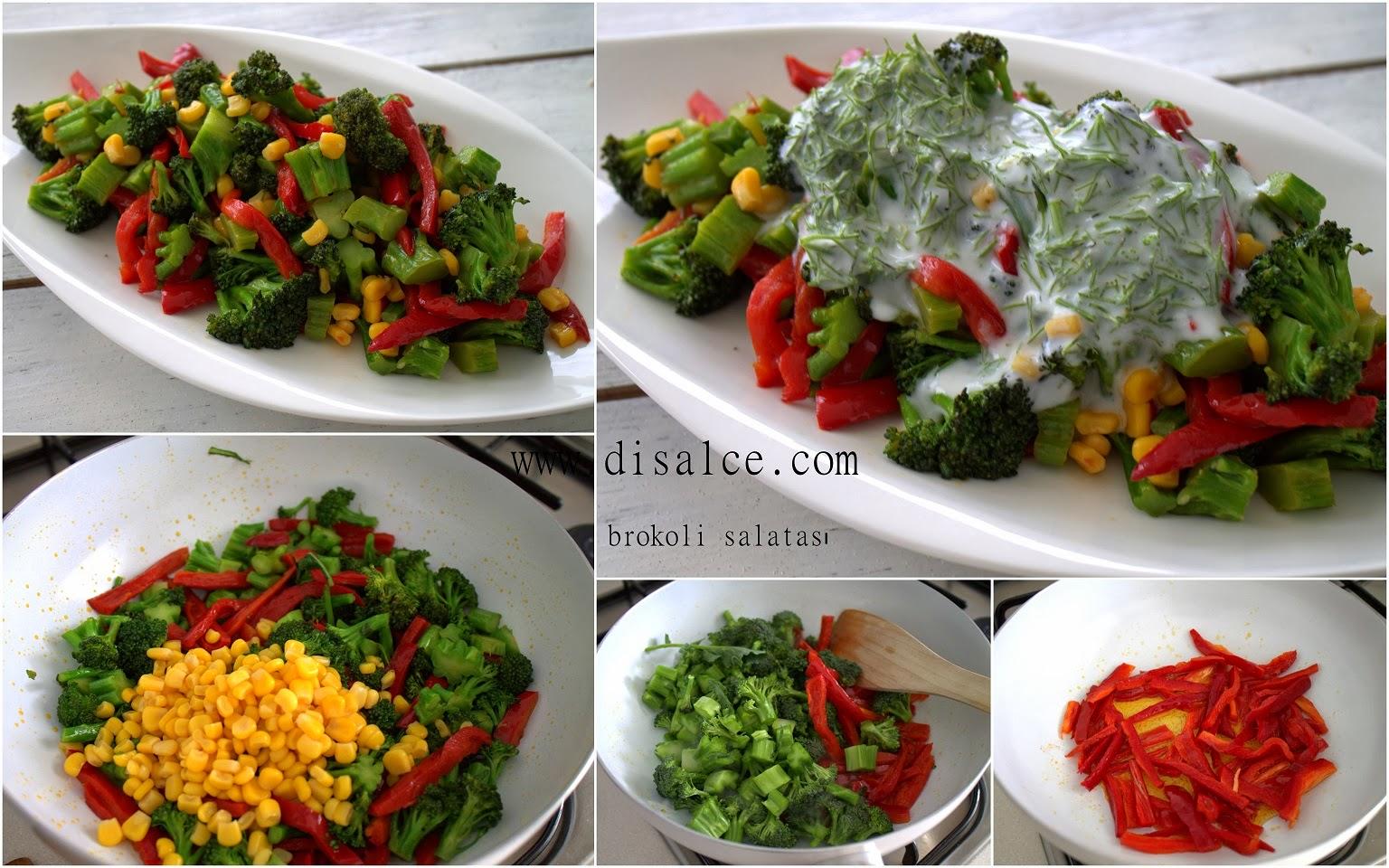 Yoğurtlu Brokoli Salatası Videosu