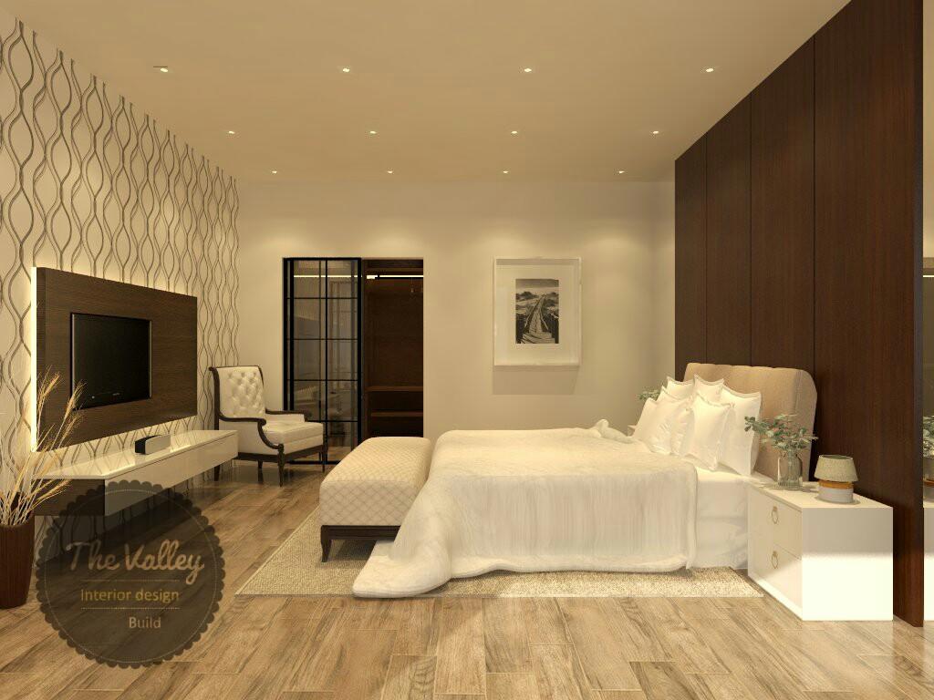 Desain Interior Kamar Tidur Lux