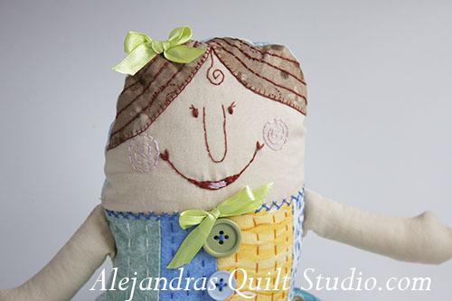 Matilda, una muñeca de trapo.