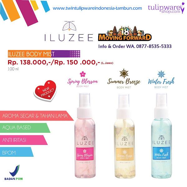 Iluzee Body Mist - Katalog 2018 Twin Tulipware