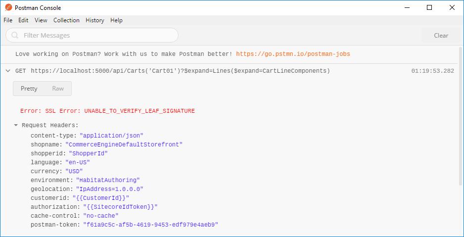 Ryan Bailey Development: Sitecore Experience Commerce - Postman ...