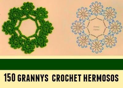Revista 150 grannys de crochet