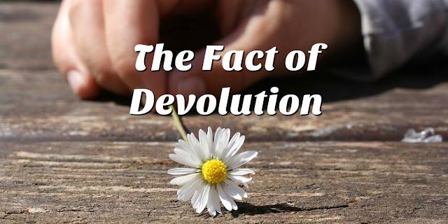 Do You Believe in Devolution?