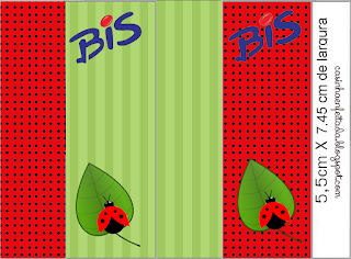 Ladybugs Free Printable Labels.