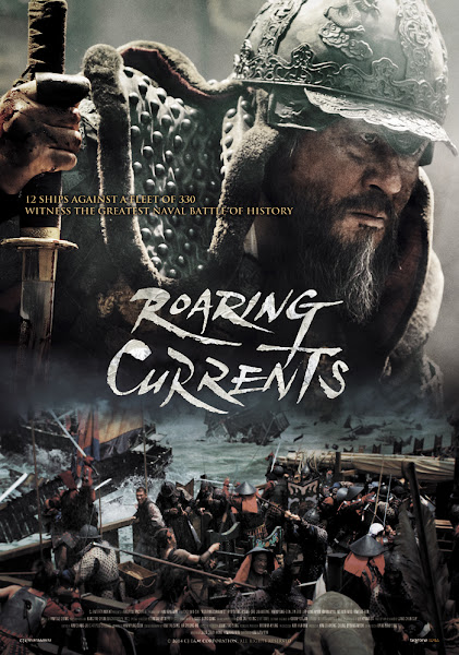 Poster of The Admiral Roaring Currents 2014 Dual Audio 720p BluRay ESubs Download